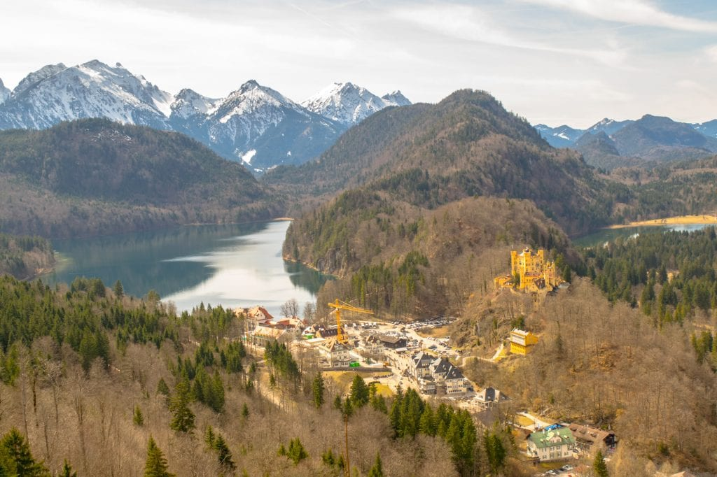 Day Trip to Neuschwanstein Castle from Munich: Lake in Bavarian Alps
