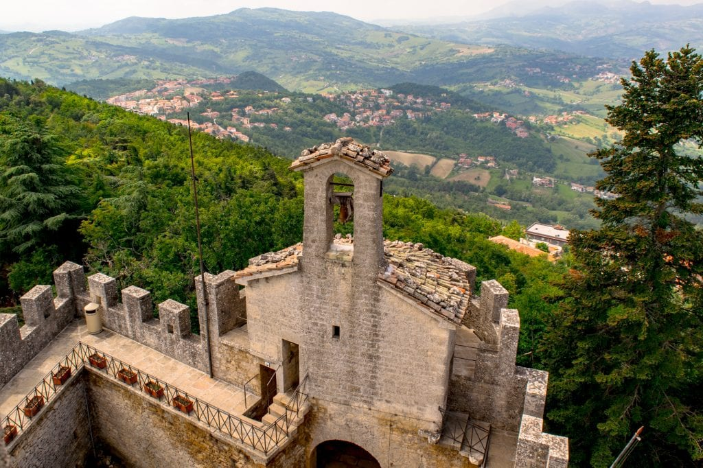Interesting Facts About San Marino: View of San Marino