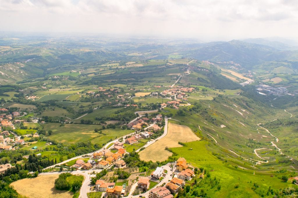Interesting Facts About San Marino: Views of San Marino