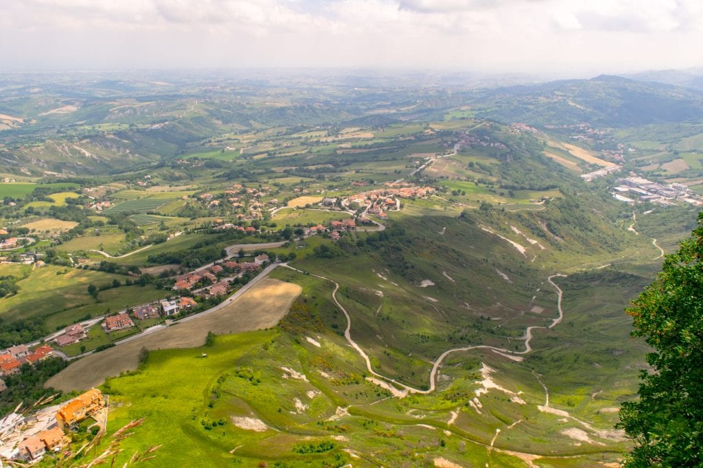 Interesting Facts About San Marino: Views of Landscape