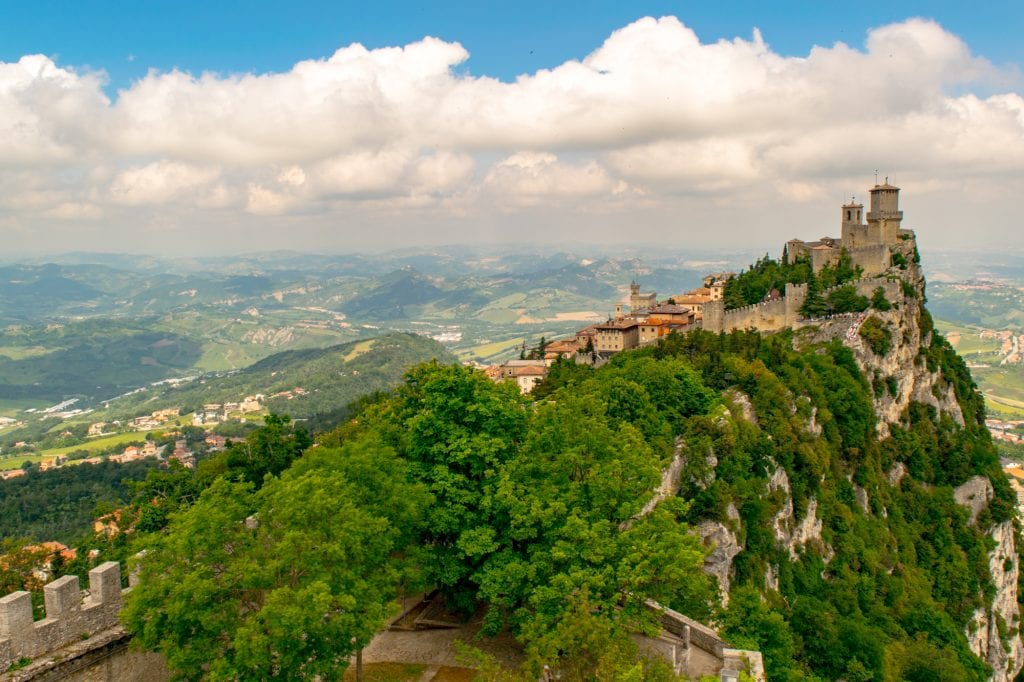 Tower Viewpoint in San Marino