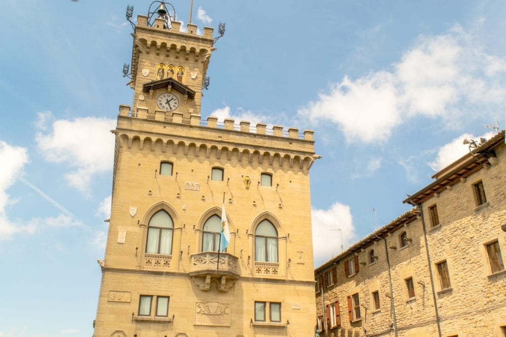 Interesting Facts About San Marino: Public Palace Exterior