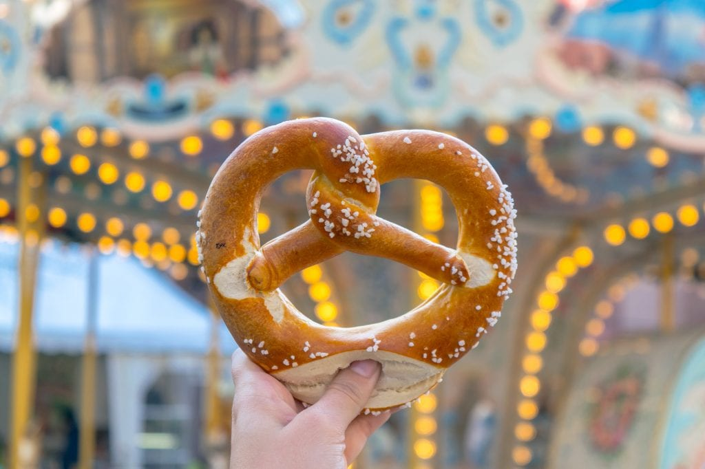 One Day in Strasbourg Itinerary: Pretzel from Tasty Trips Pass