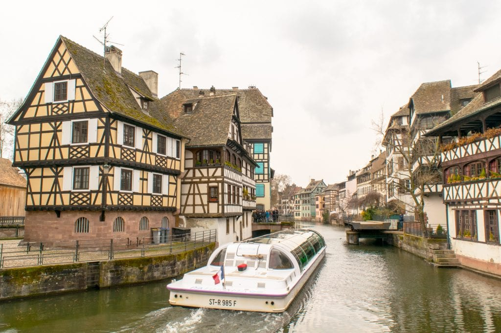 One Day in Strasbourg Itinerary: Canals