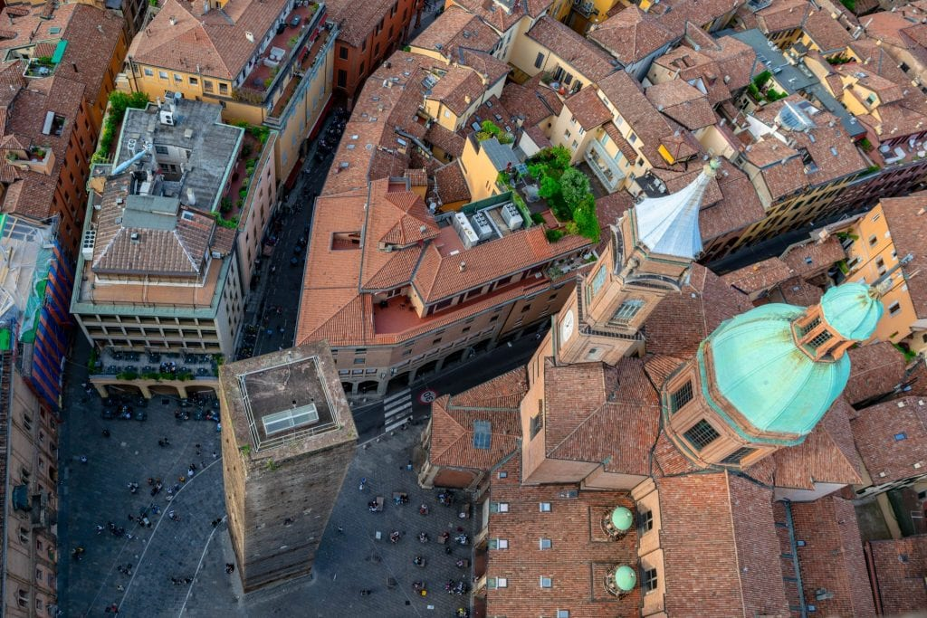 The Best Things to Do in Bologna: Climb Asinelli Tower