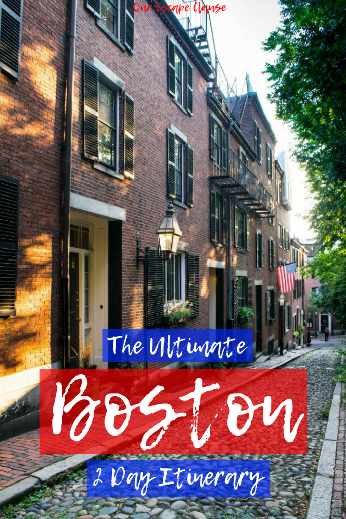 The Ultimate 2 Days in Boston Itinerary