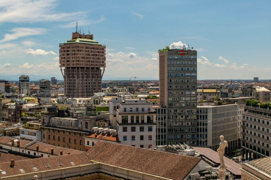 One Day in Milan Itinerary: Milan Skyline