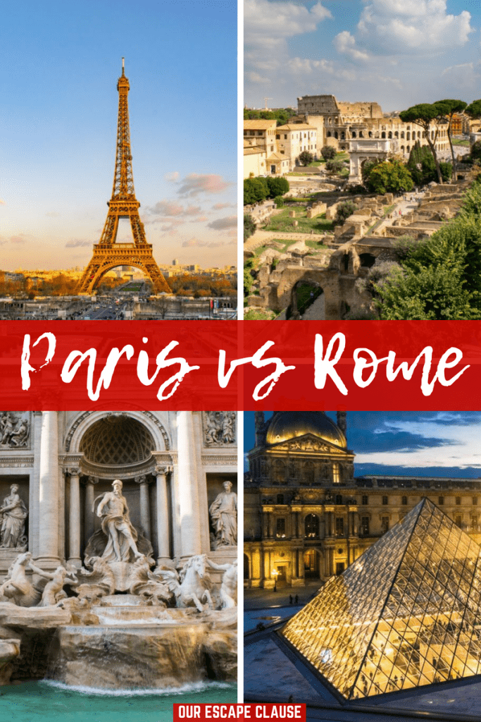 Paris vs Rome