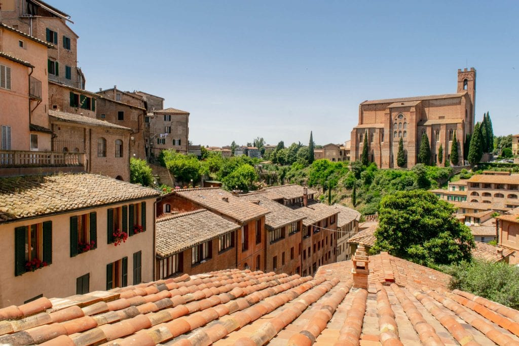 Tuscany Honeymoon: Rooftops of Siena