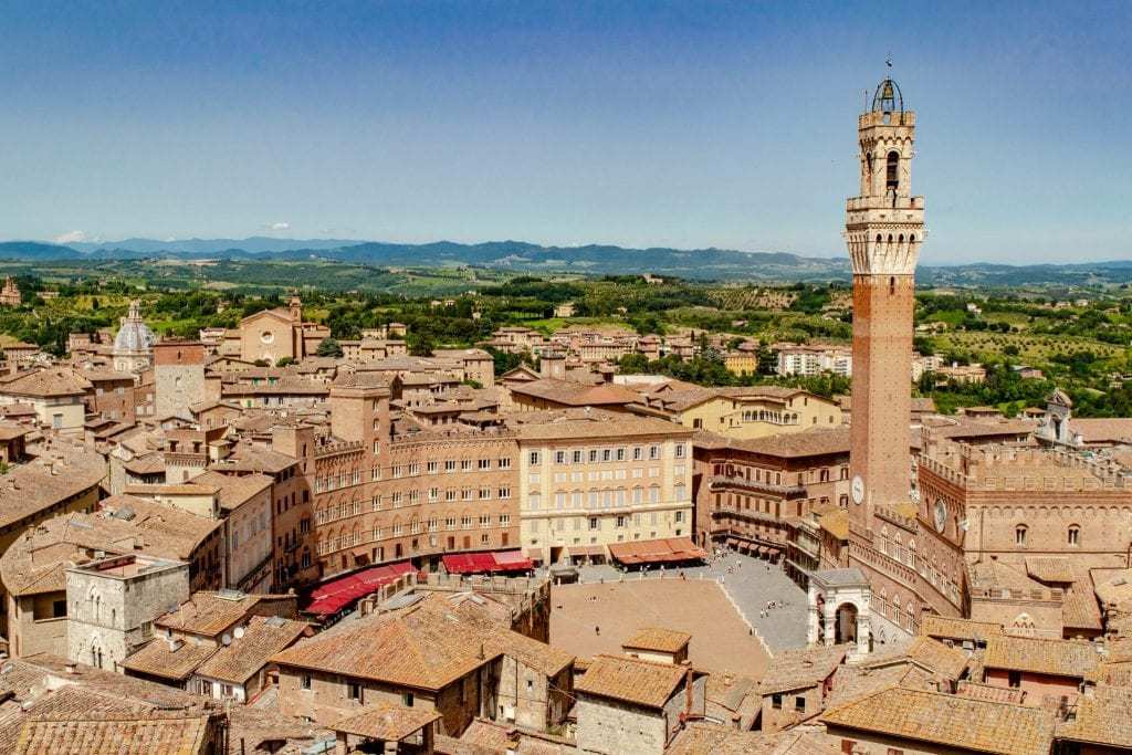 Tuscany Honeymoon: Rooftops of Siena