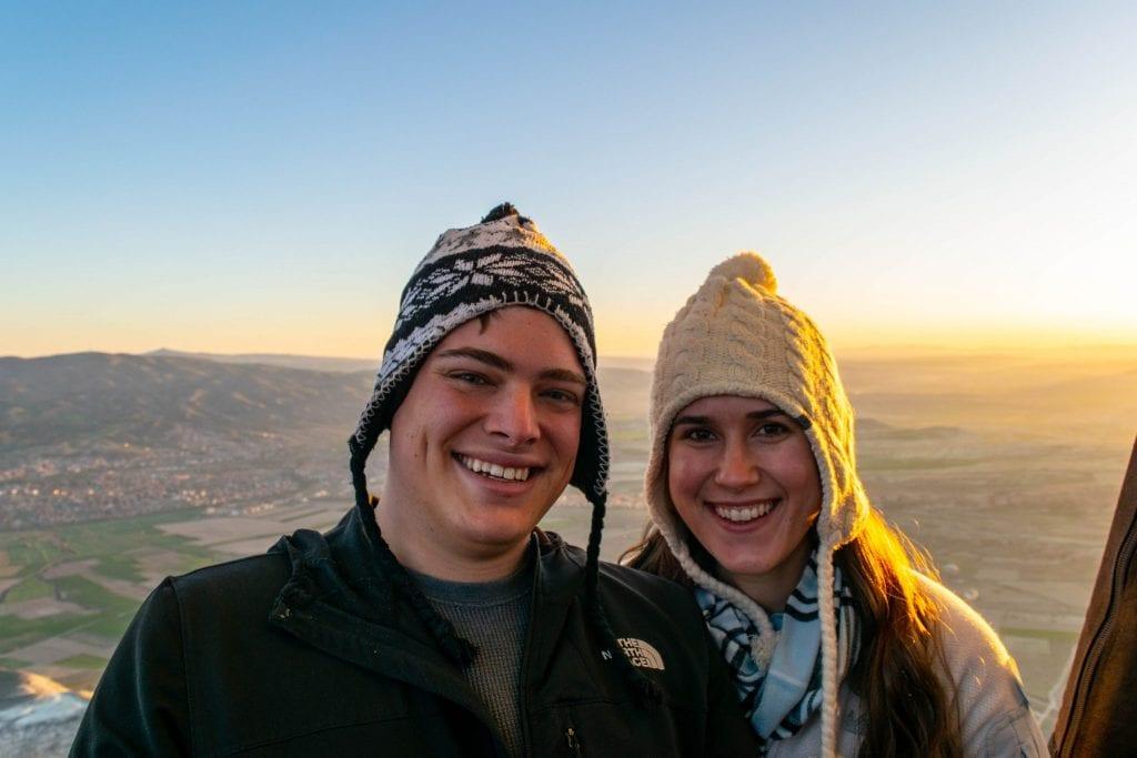 Cappadocia Balloon Selfie