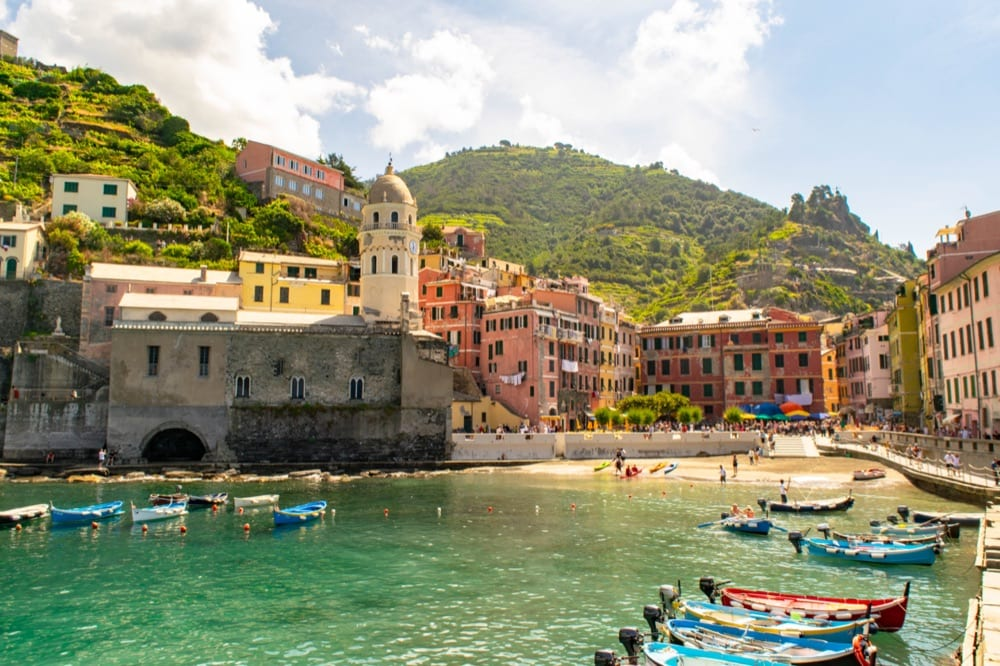 Best quotes about Italy: view of Vernazza