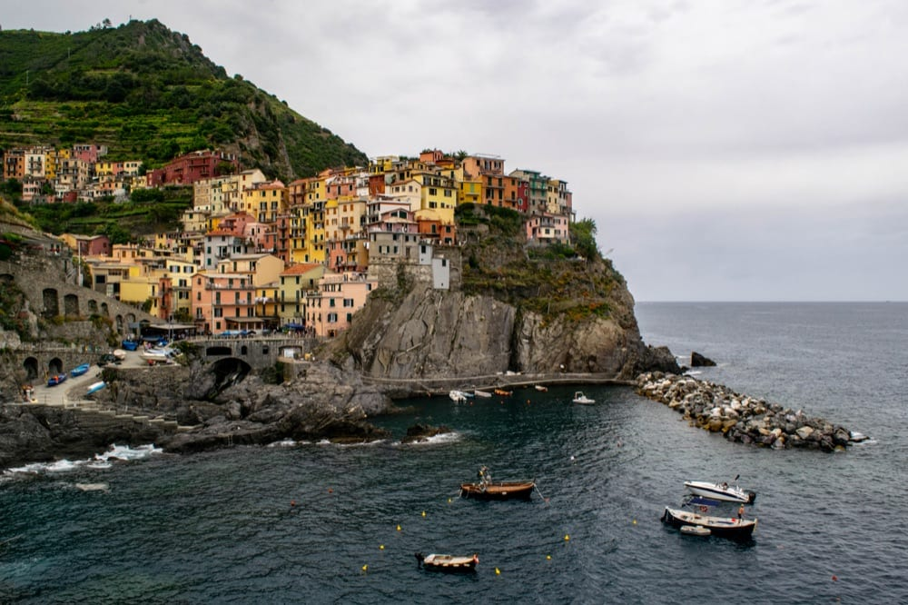 Best Books About Italy: Manarola Before Rain