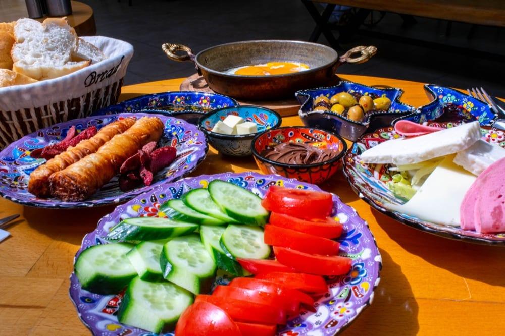 2 Days in Istanbul Itinerary: Turkish Breakfast