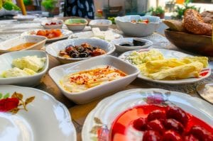 Food in Istanbul: Turkish Breakfast