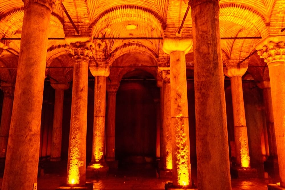 2 Days in Istanbul Itinerary: Basilica Cistern