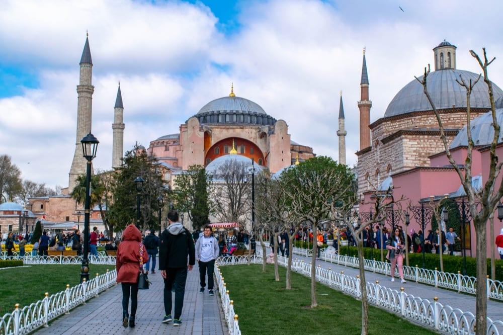 2 Day Istanbul Itinerary: Hagia Sophia Exterior