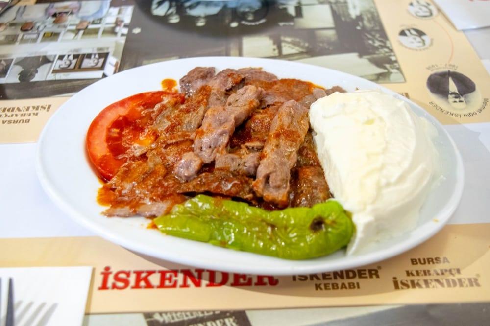 Food in Istanbul: Istender Kebab