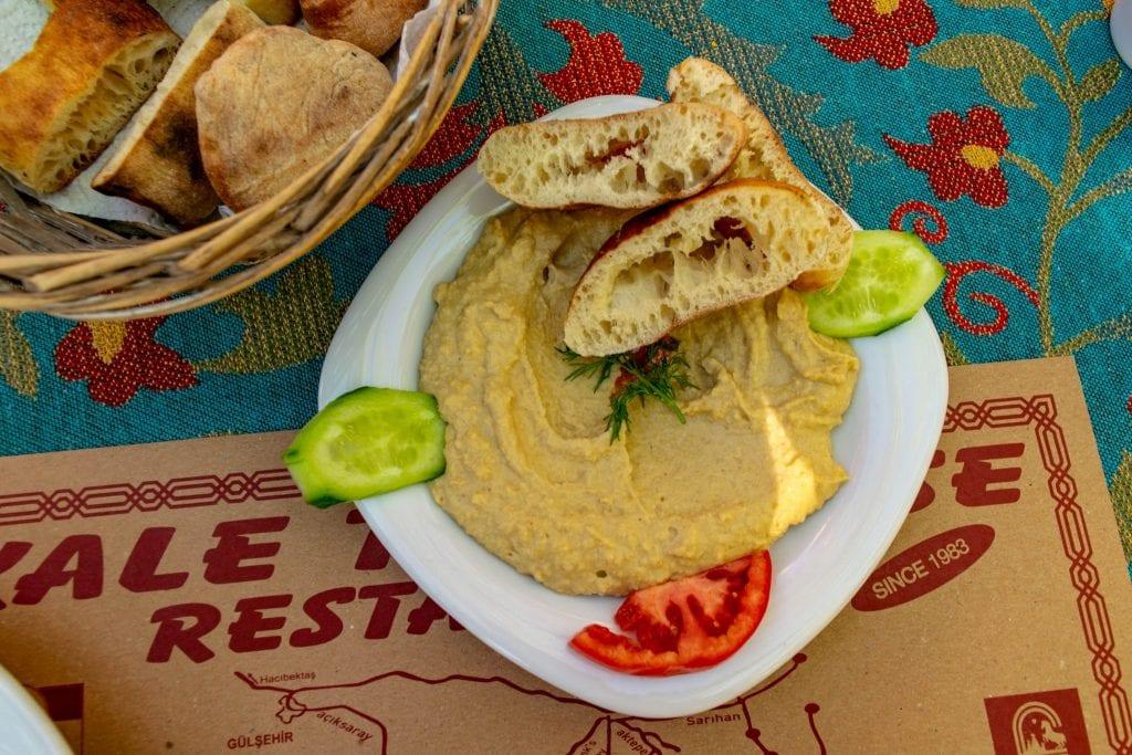 Hummus in Cappadocia, Turkey