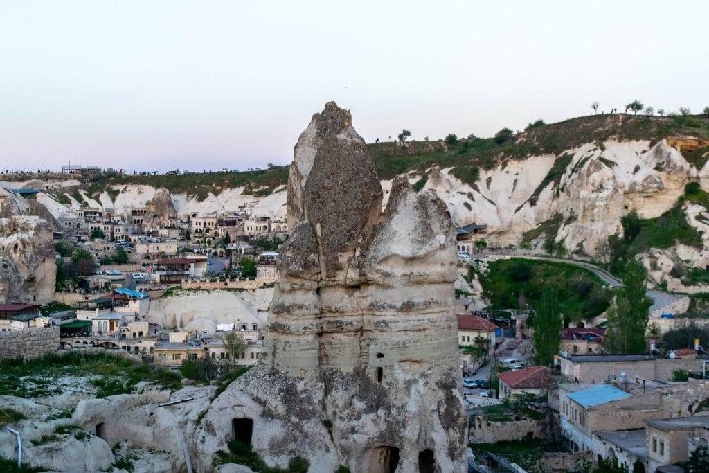 Formations in Cappadocia, Turkey
