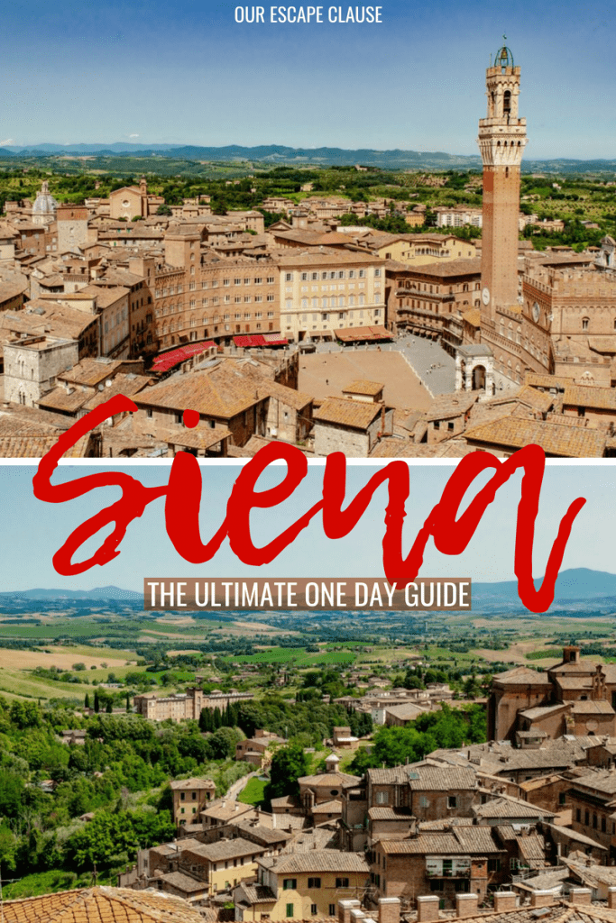 How to take the perfect Siena day trip: what to do, how to get there, and more! #siena #tuscany #italy #travel