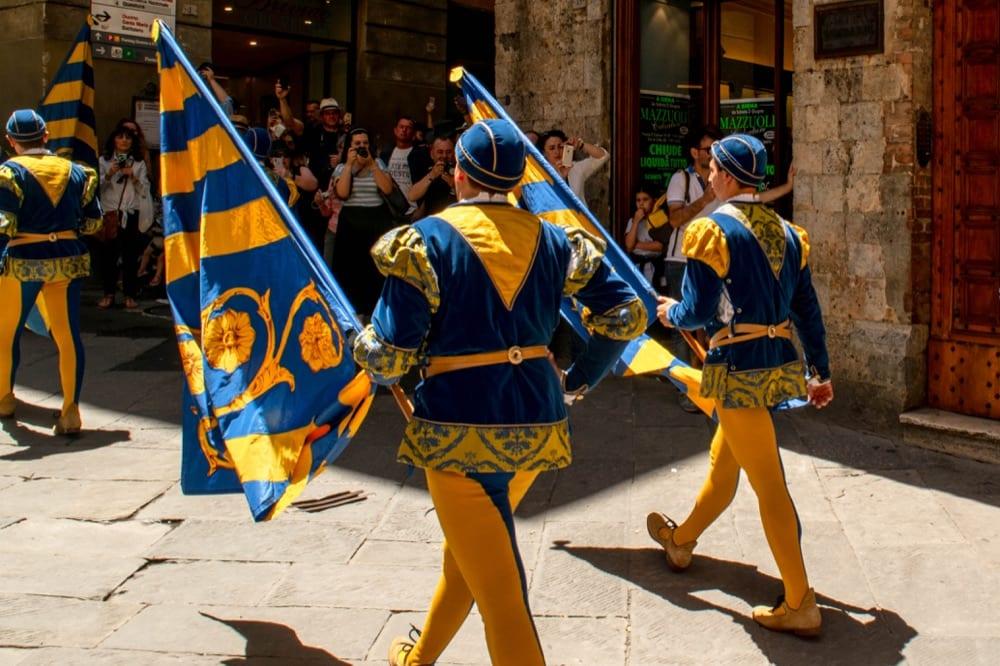 Siena Day Trip: Contrada Parade