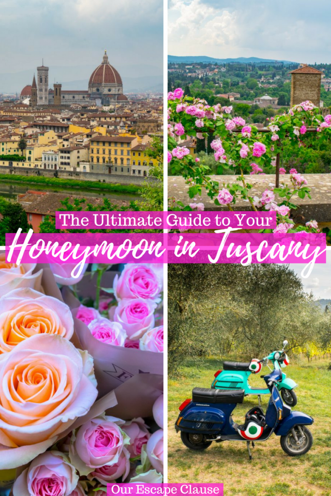 Honeymoon in Tuscany: where to go, the most romantic things to do, and more! #honeymoon #tuscany #italy #travel #italyhoneymoon #tuscanyhoneymoon
