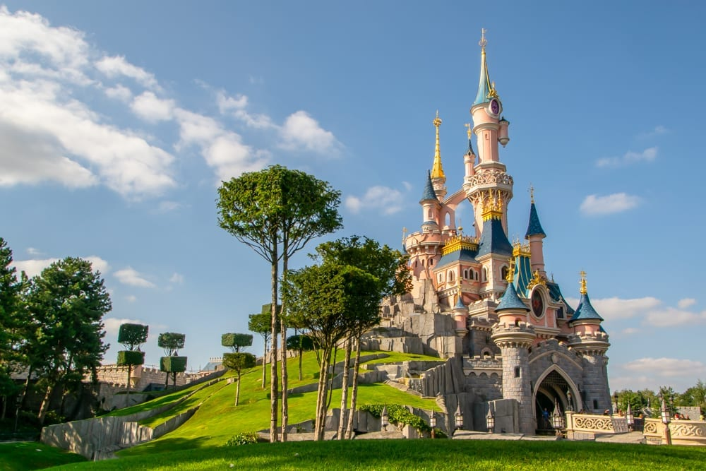 Honeymoon in Paris: Day Trip to Disneyland Paris