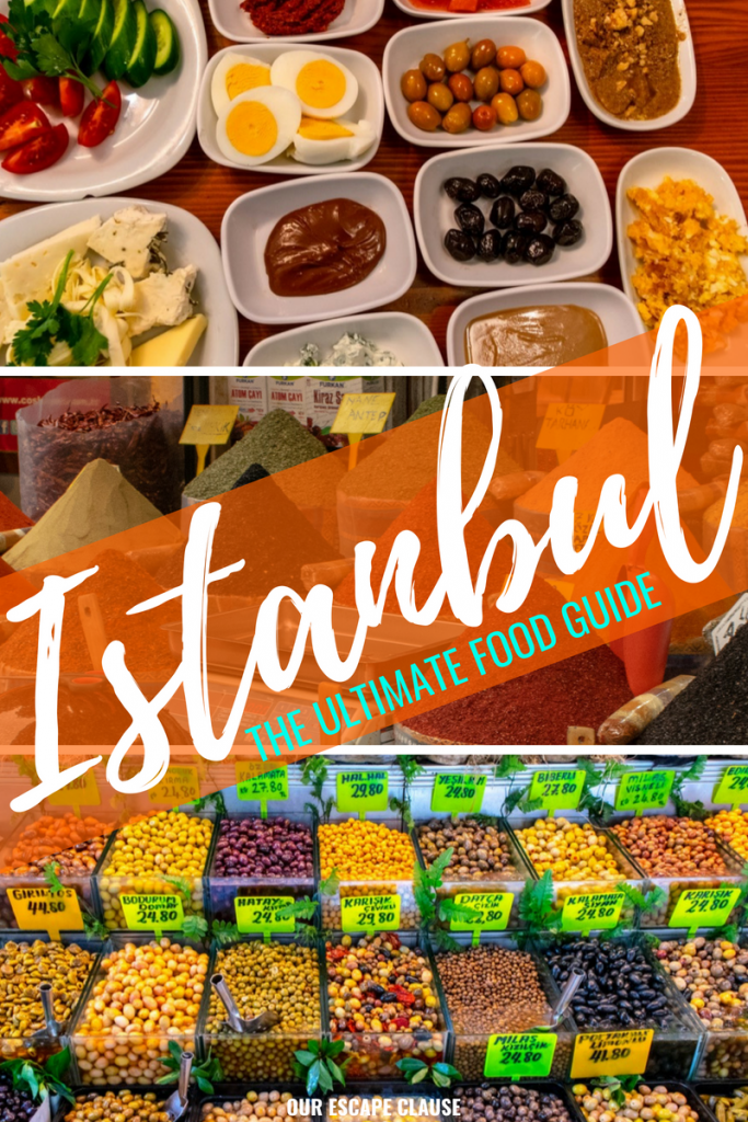 The Best Food in Istanbul: The Ultimate Guide #istanbul #turkey #food #foodie #travel