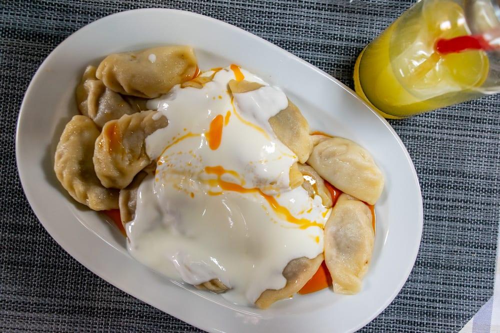 Food in Istanbul: Manti
