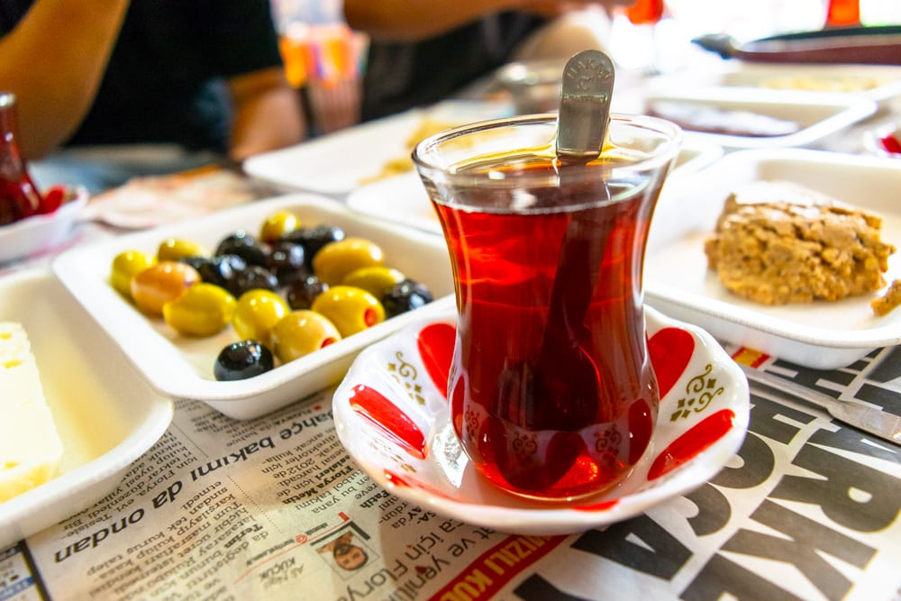 Best Food in Istanbul: Turkish Tea