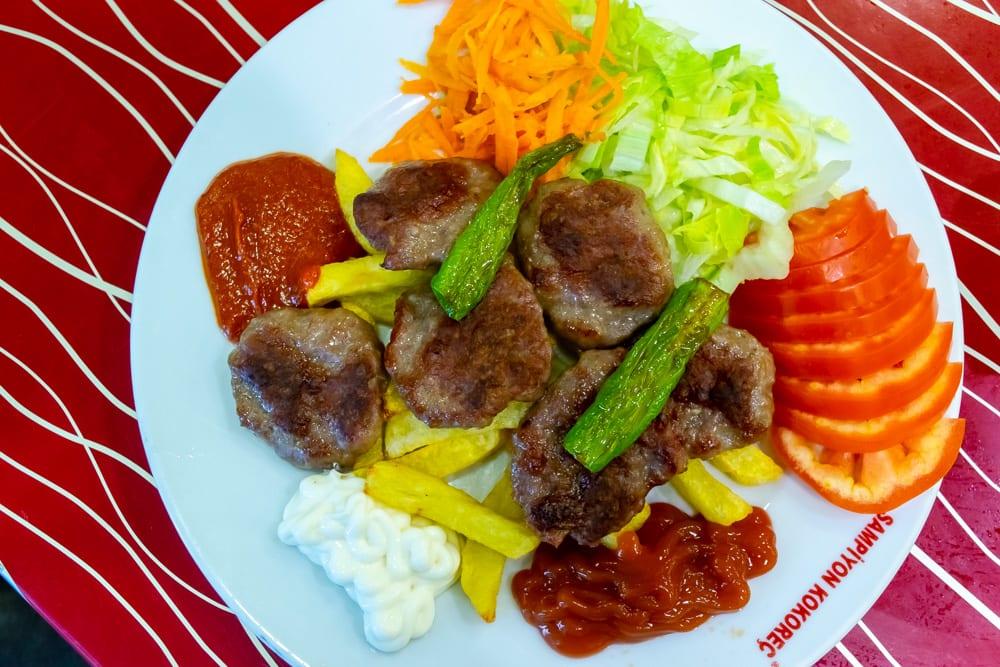 Food in Istanbul: Kofte