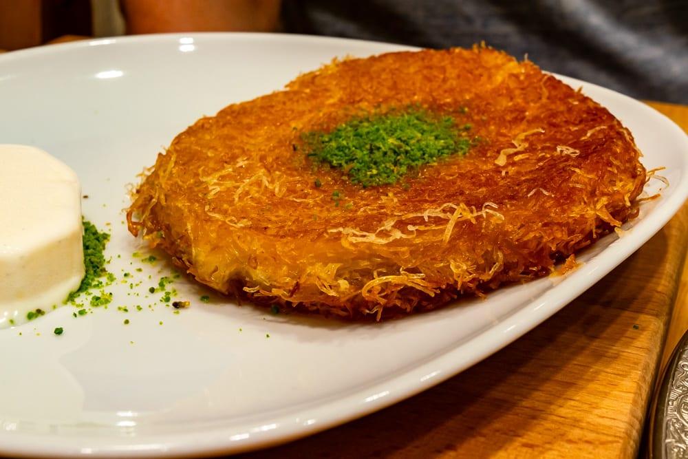 Istanbul Food: Kunefe