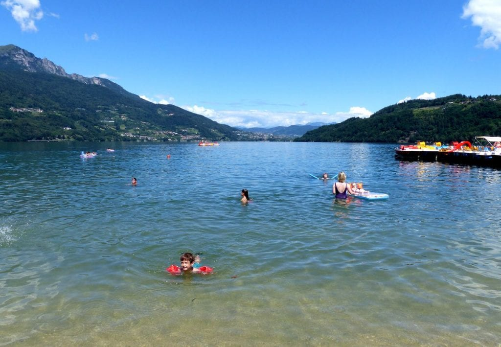 The Most Beautiful Lakes in Italy: Lake Caldonazzo