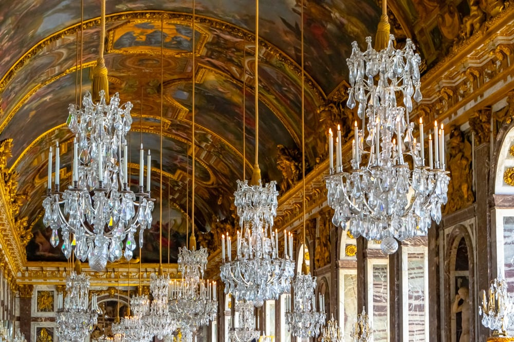 Visiting Versailles: Hall of Mirrors