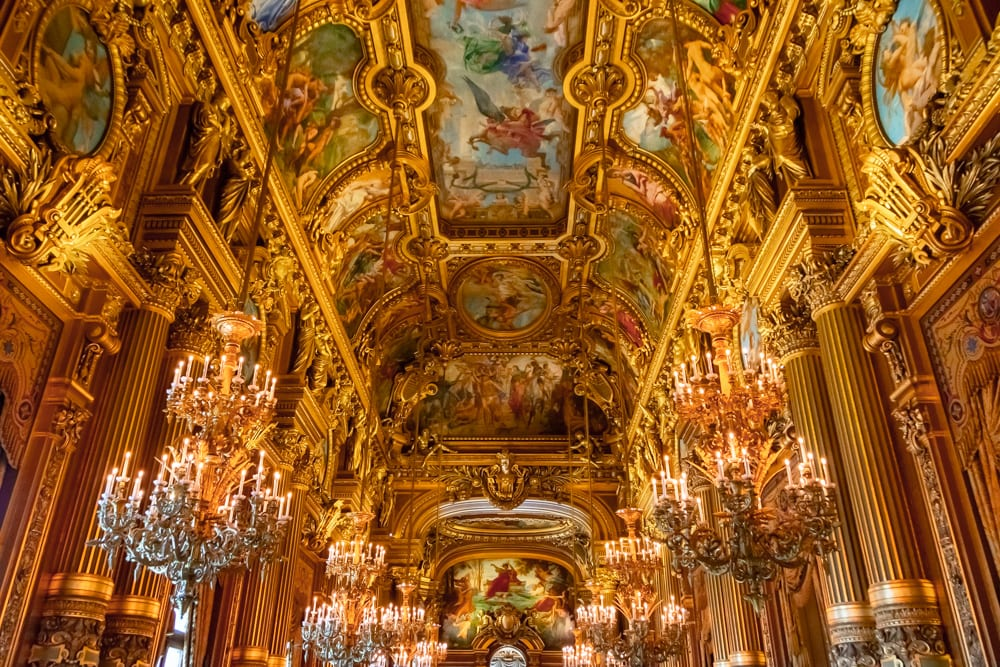 Honeymoon in Paris: Palais Garnier