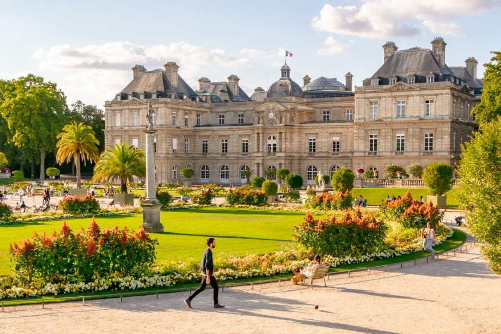 Luxembourg Gardens in August: Packing List for Europe Summer