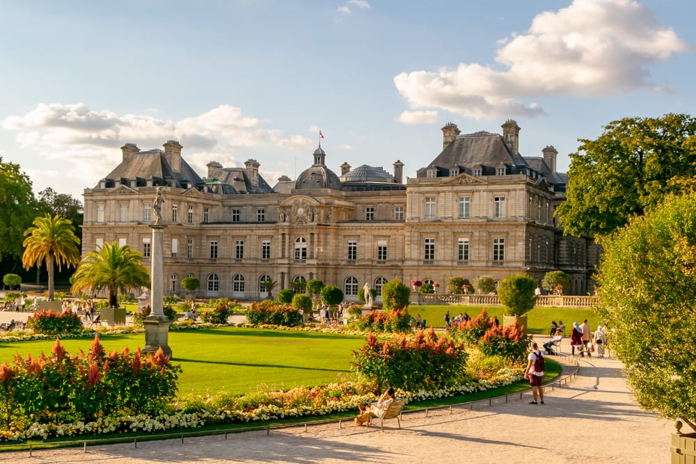 Honeymoon in Paris: Luxembourg Gardens