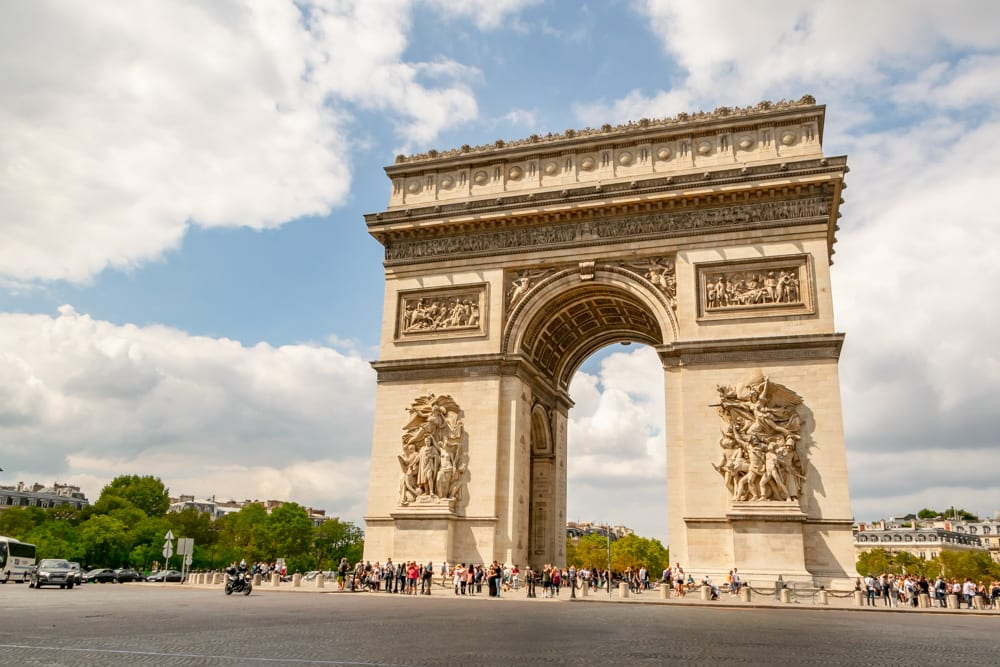 3 Day Paris Itinerary: Arc de Triomphe