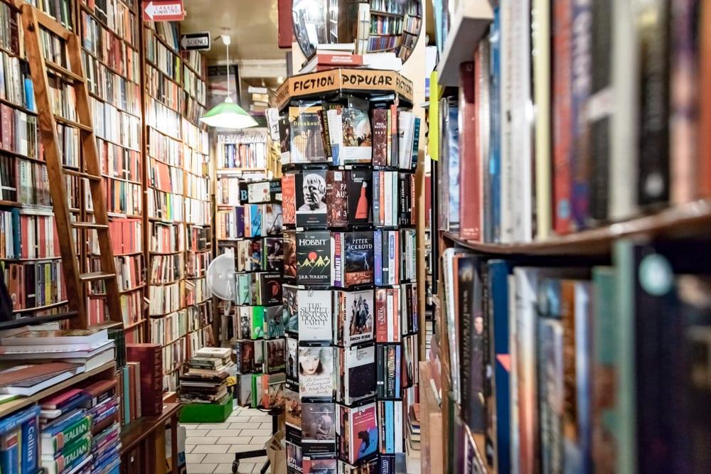 Honeymoon in Paris: Abbey Bookshop