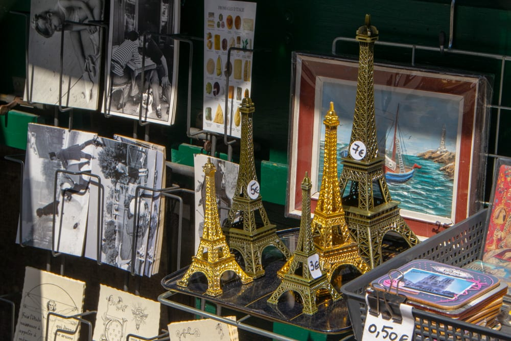 Paris in One Day: Souvenirs of Eiffel Tower