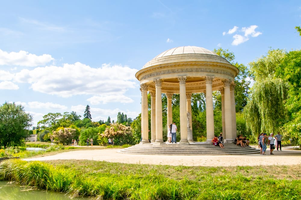 Visiting Versailles: Gardens of Trianon
