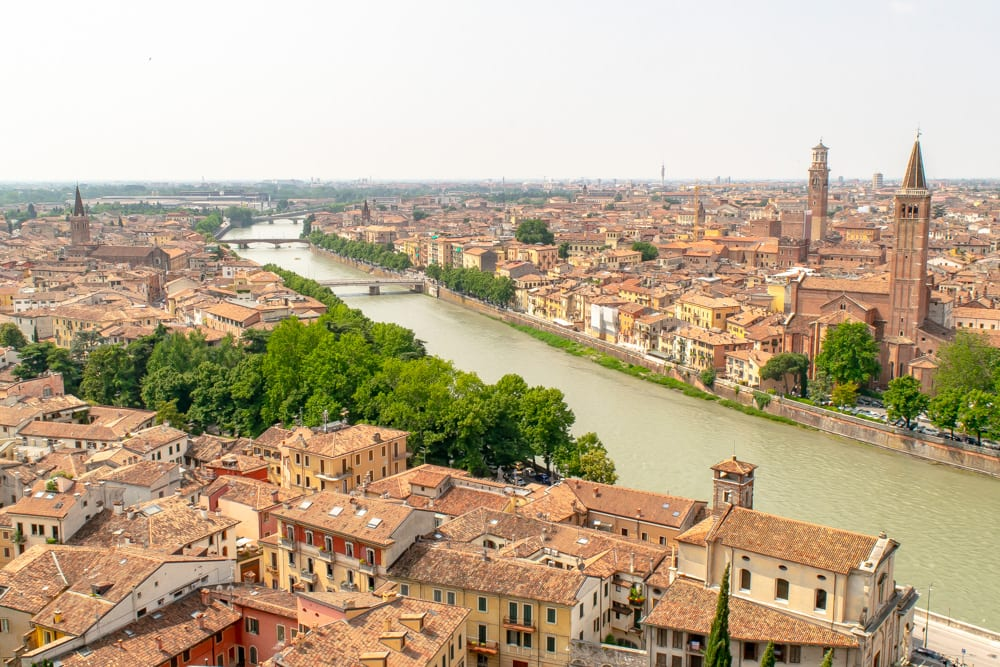 Best Books About Italy: View of Verona