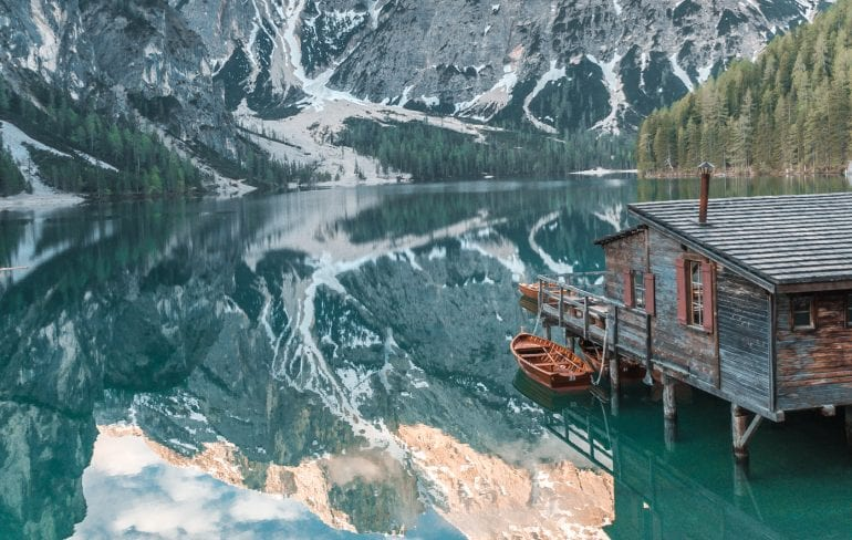 Most Beautiful Lakes in Italy: Lago di Braies
