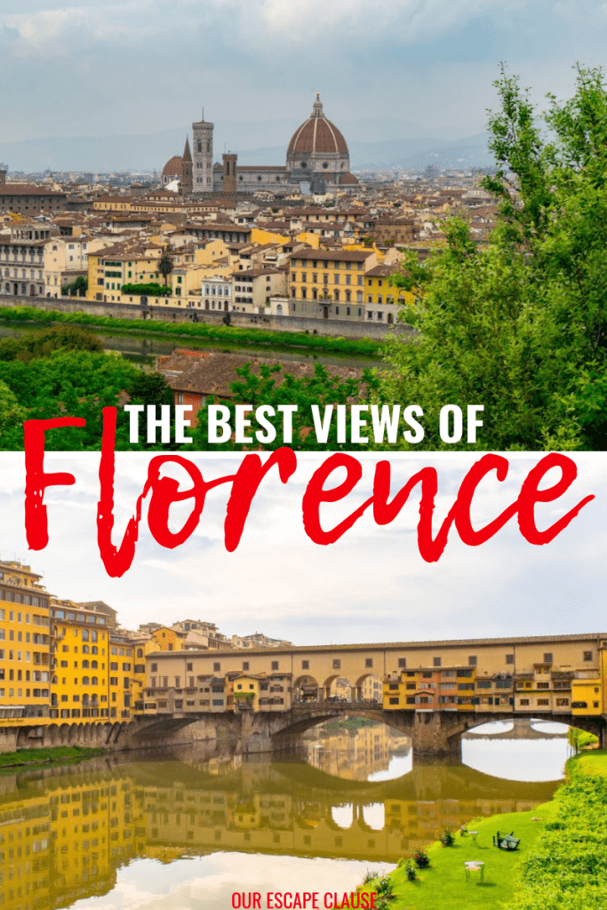The Best Views of Florence: #florence #tuscany #italy #travel #views #viewpoint