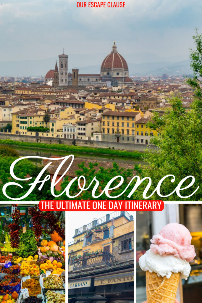 One Day in Florence: what you need to know! #florence #italy #tuscany #travel #travelplanning