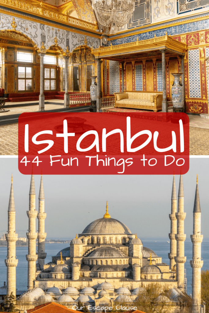 Fun Things to Do in Istanbul: #istanbul #turkey #travel #explore