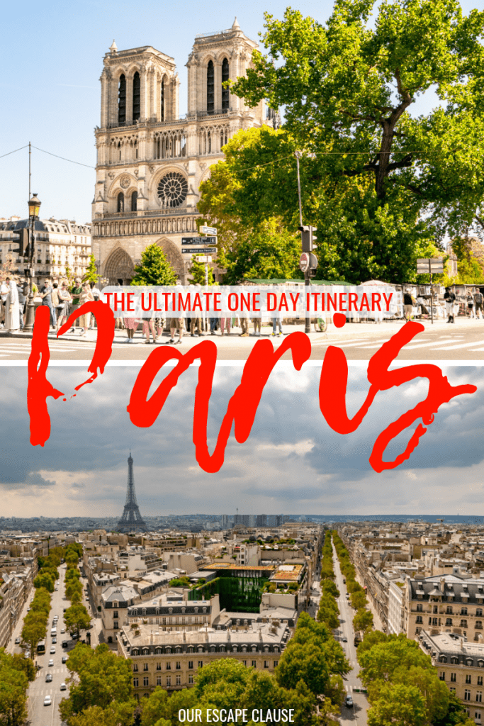 The Ultimate One Day in Paris Guide: #paris #france #travel #paristrip