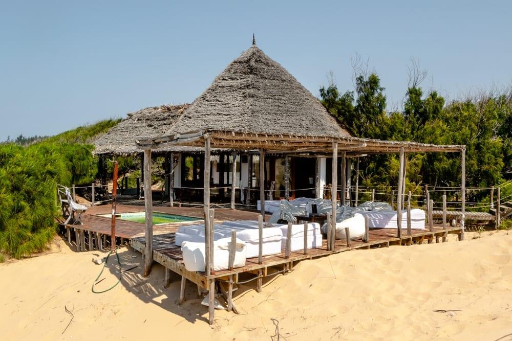 Tofo, Mozambique: Varandas do Indico
