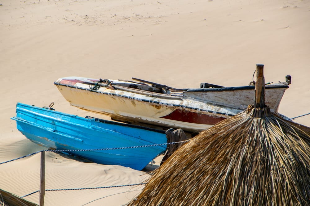 Tofo, Mozambique: Fishing Boats